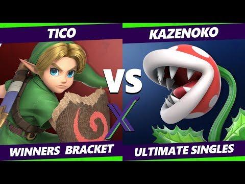 Smash Ultimate Tournament - Tico (Young Link)  Vs. Kazenoko (Piranha Plant) - S@X  288 SSBU Winners
