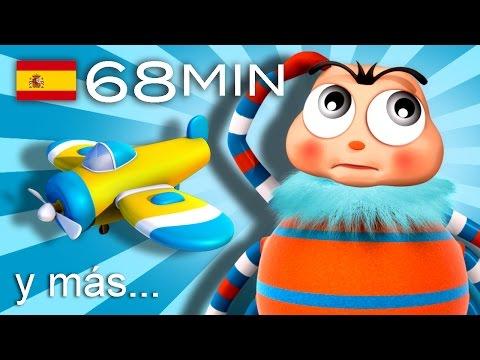 Incy Wincy Araña   Y muchas más canciones infantiles   ¡68 min de LittleBabyBum! HD