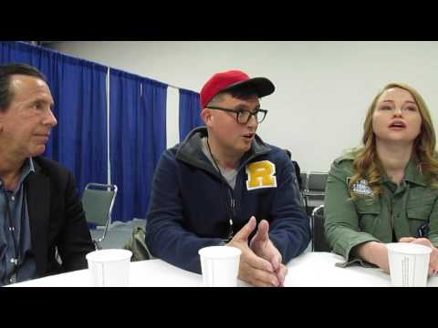 Jon Goldwater, Roberto Aguirre-Sacasa, and Sarah Schechter for Riverdale at Wondercon 2017