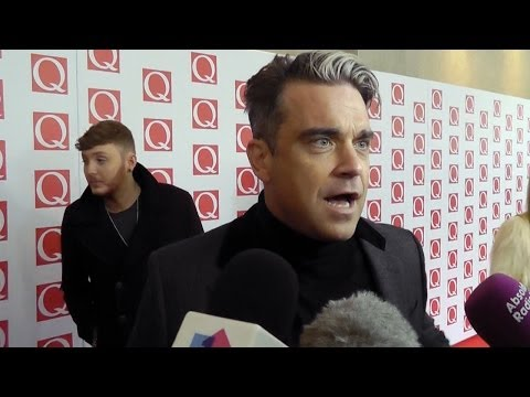 Robbie Williams crowned Q Idol at Q Awards 2013 | Official Charts