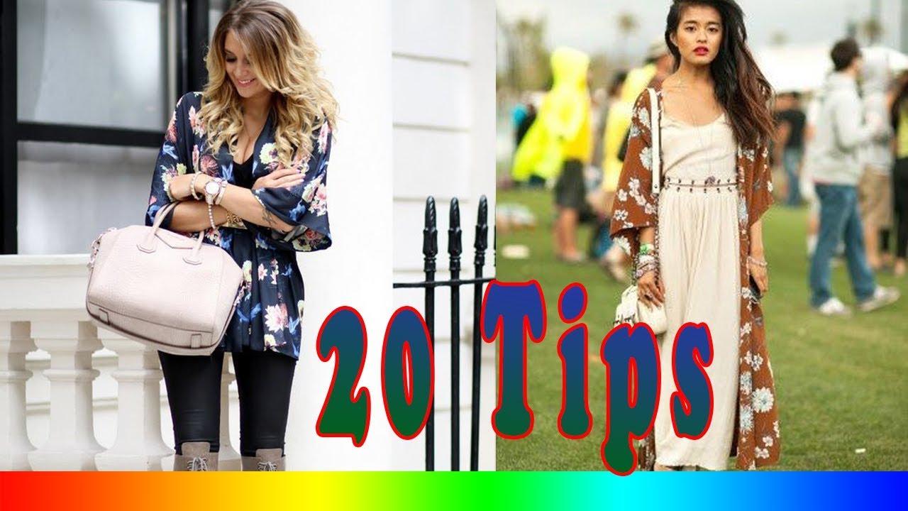 7d544e862a6 20 Style Tips On How To Wear Kimono Jackets - YouTube