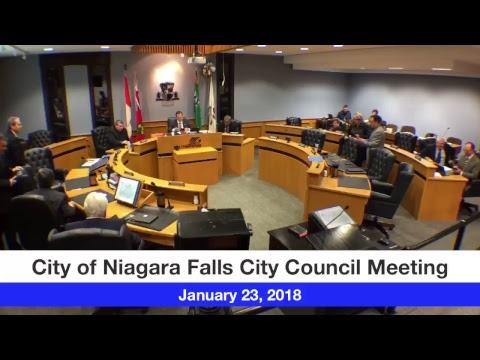 January 23, 2018 City Council Meeting