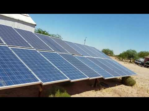 Running A High Voltage Off-Grid Solar Inverter without Batteries