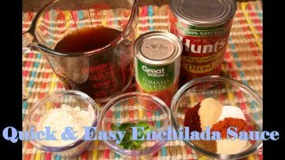 Homemade Enchilada Sauce Recipe - How To Make Enchilada Sauce
