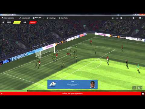 Football Manager 2014 Let's Play - Manchester United #2 | Amazing Response! | 3D Gameplay