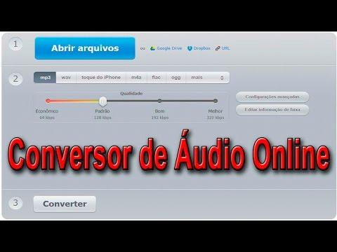 Converter MP3 para WAV Online e Grátis