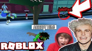 JAKE PAUL RUINS MI VIDEO JAILBREAK $1M!!! *GIVEAWAY* (Roblox Jailbreak)