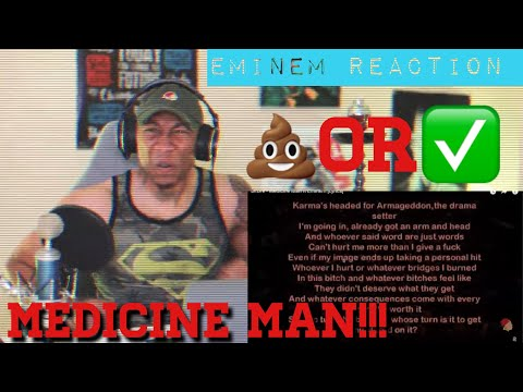 Eminem went CRAZY!!! Dr. Dre (Medicine Man) ft Eminem [REACTION]