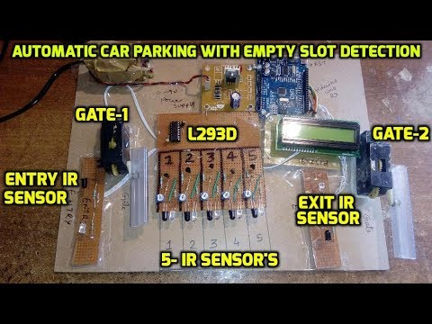Automatic Car Parking With Empty Slot Detection