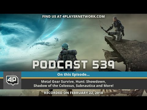 "4Player Podcast #539: The ""Hot Gollum"" Show"