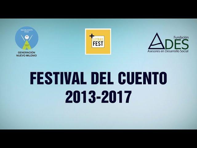 Trayectoria Festival del Cuento 2013-2017