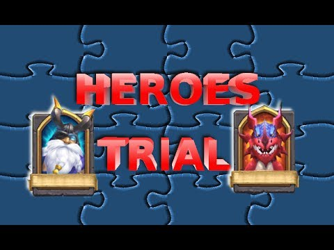 Castle Clash 1.3.0 New Heroes Trial Update Released On The TW Servers