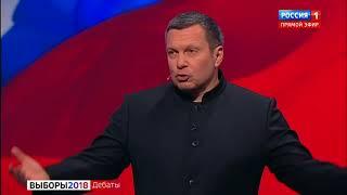 СОБЧАК VS ЖИРИНОВСКИЙ. Полная версия
