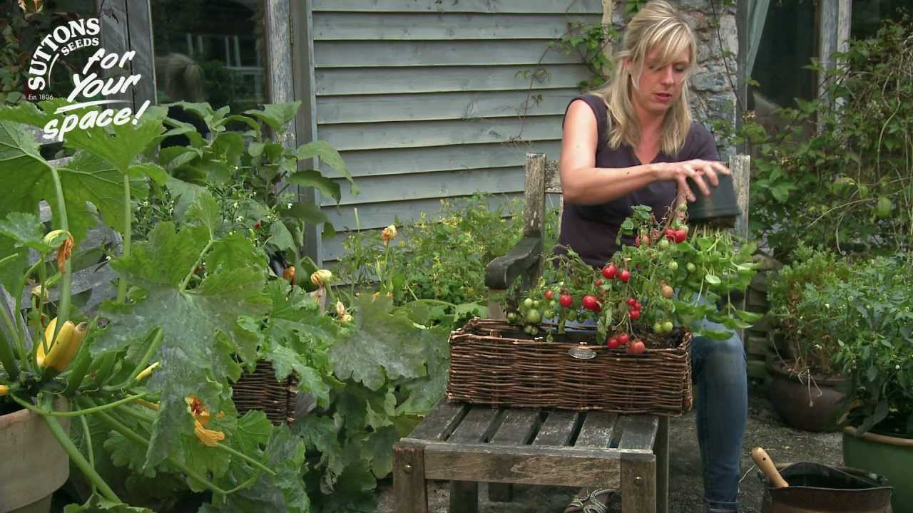 How to make the most of your small space garden window box gardening youtube - How to create a garden in a small space image ...