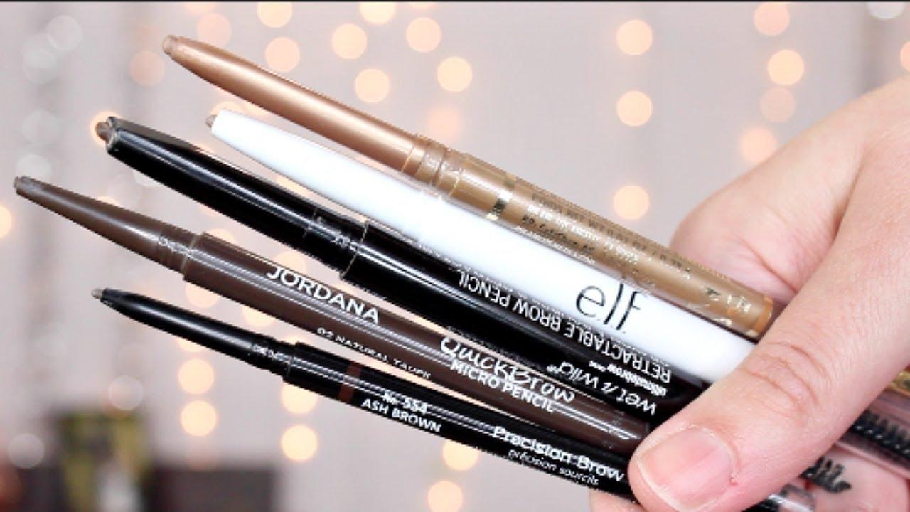 Drugstore Eyebrow Pencil Reviews | Cruelty Free - YouTube