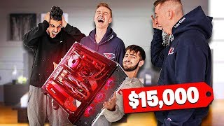SURPRISING MY ROOMMATE WITH $15,000 GAMING PC