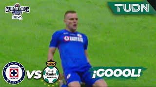 ¡MEGA GOLAZO de Cruz Azul!   Cruz Azul 1-1 Santos   Torneo Guard1anes 2021 BBVA MX Final   TUDN