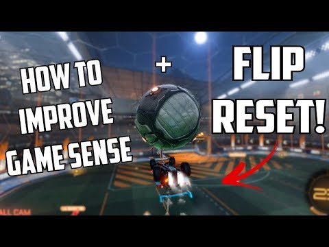 You should do this every kickoff.. + Insane Flip Reset | Rocket League thumbnail