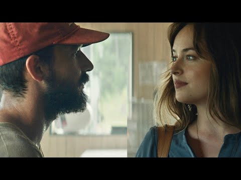 shia labeouf and dakota johnson in peanut butter falcon