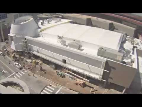 College Football Hall of Fame - Construction Timelapse Webcam 4/21/2014