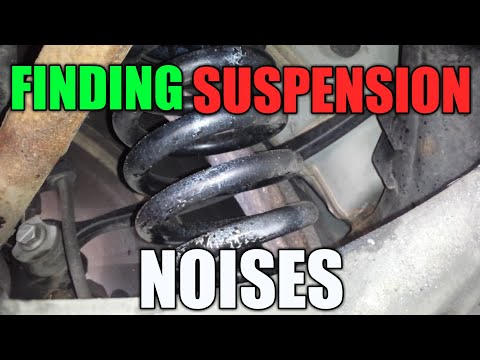 Finding Suspension Squeaks | Before You Fix | You Find