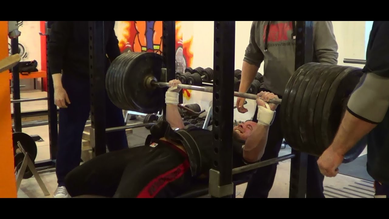 """2"""" board bench press from 270kg to 300kg - youtube"""