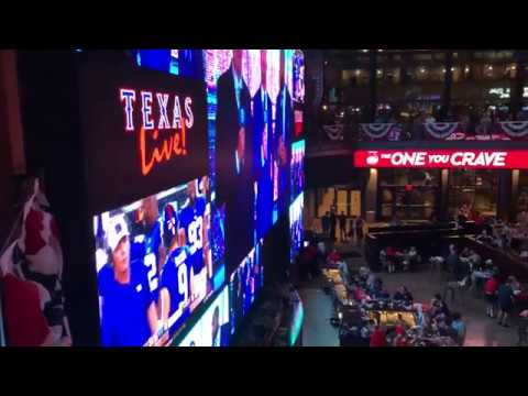 Texas Live! opens in Arlington