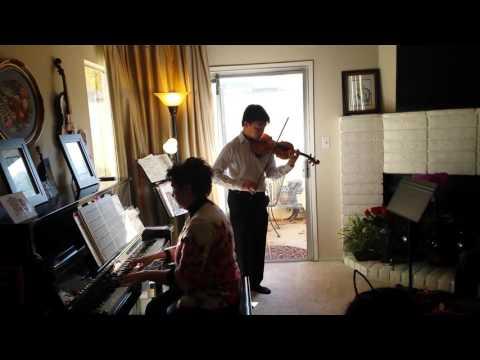 Brian Shih violin recital