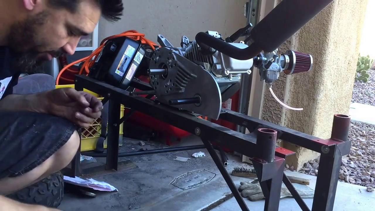 Predator 212 governor removal / add torque converter and break in