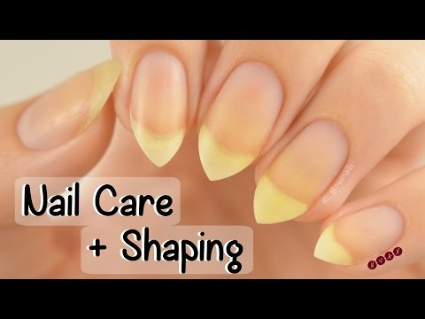 My Nail Care Routine + How I Shape My Nails