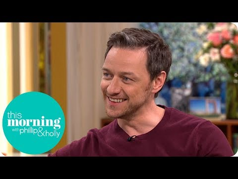 James McAvoy Thinks Garden Gnomes Are Just a Little Bit Naughty  This Morning