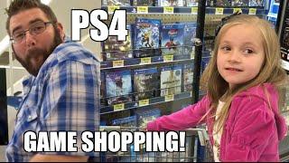 Embarrassing Dad Ps4 Video Games Shopping At Walmart!