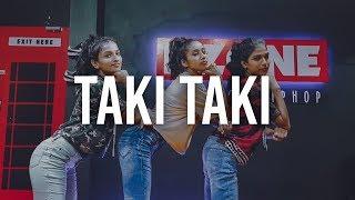 TAKI TAKI - DJ Snake, Cardi B, Ozuna & Selena Gomez | Dance Choreography | Miss Dzone |  Dzone Crew