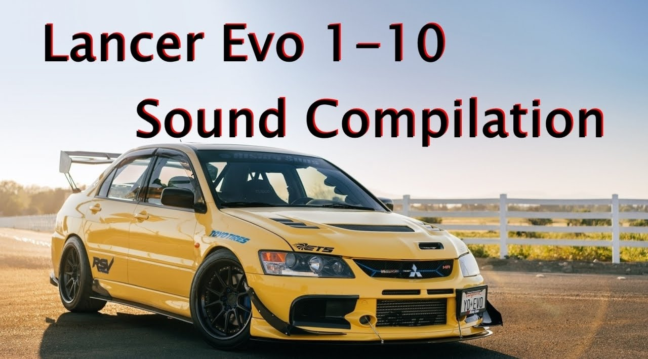 Lancer Evo 1 10 Engine Sound Compilation Youtube