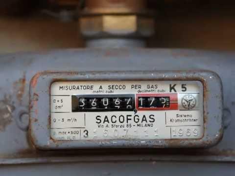 Contatore malato youtube for Taroccare contatore gas