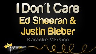 [3.67 MB] Ed Sheeran & Justin Bieber - I Don't Care (Karaoke Version)