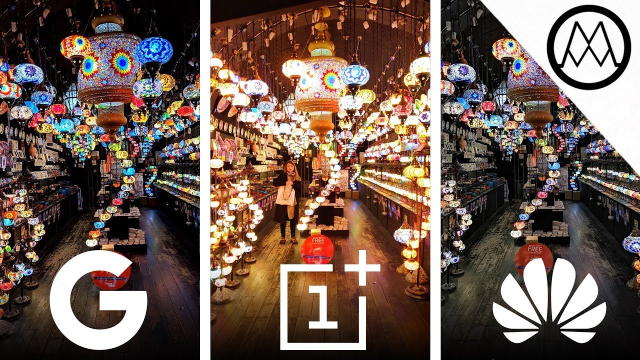 Pixel 3 Night Sight vs OnePlus 6T vs Huawei Mate 20 Pro Night Mode Camera TEST