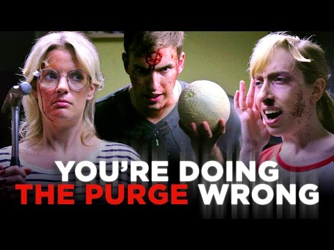 You're Not Purging; You're Just Being a Dick (CH Does the Purge)