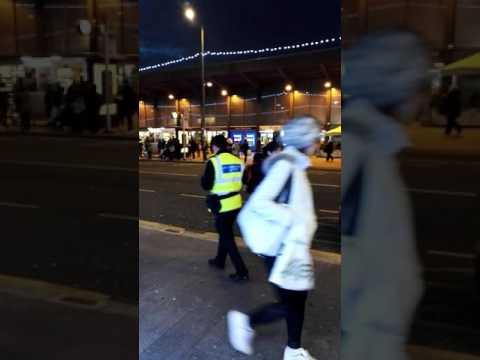 Unmarked Police Car / CID Car Metropolitan Police London UK gets a parking fine ticket in Barking