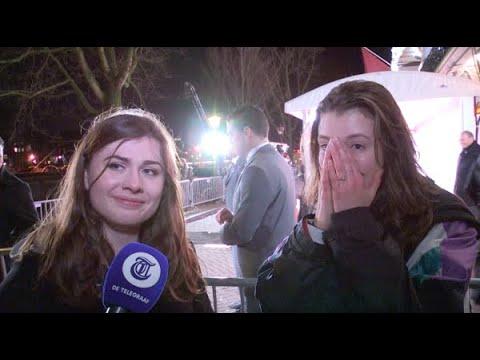 Vriendinnen in tranen om Leonardo DiCaprio