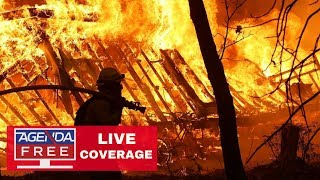California Fires LIVE COVERAGE - Woolsey Fire, Camp Fire
