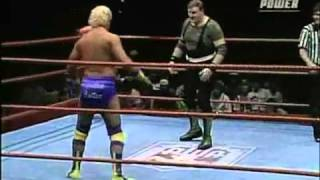 AWA 1of 2 ESPN MAIN EVENT Sgt. Slaughter vs Jonnie Stewart 4-14-90