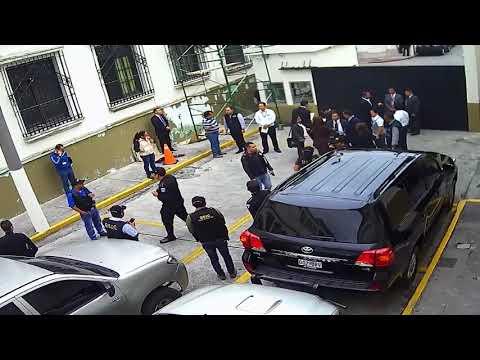 MP y CICIG realizan allanamiento ilegal a Casa Presidencial de Guatemala