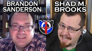 BRANDON SANDERSON and SHADIVERSITY talk pop-culture, fantasy, self publishing + HUGE ANNOUNCEMENT