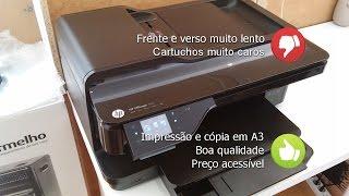 Multifuncional HP Officejet 7612 A3 - Review, Especificações