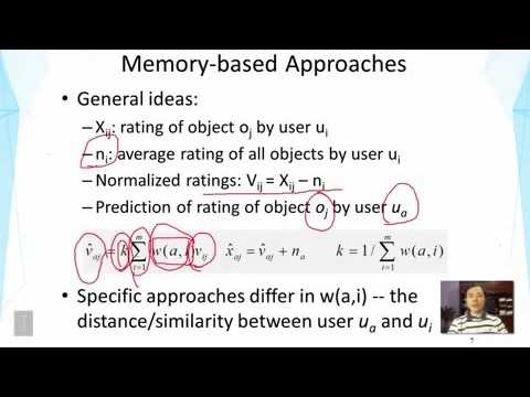 DATA MINING   2 Text Retrieval And Search Engines   Lesson 6 8 Recommender Systems Collaborative Fil