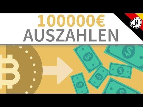 100000 Euro Von KRYPTO In FIAT Tauschen