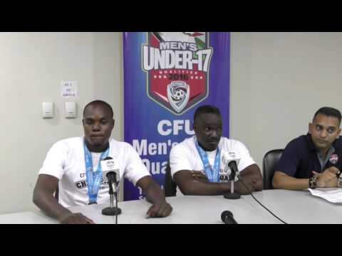 Haiti's head coach speaks after team's Triumph in CFU U-17 Final