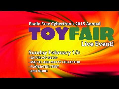 Toy Fair 2015 Live Stream Day 2: TMNT, Mattel and more!