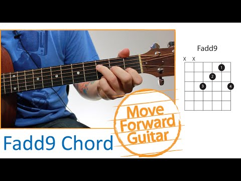 Guitar Chords for Beginners - Fadd9
